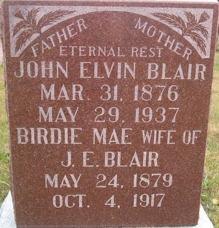 BLAIR, JOHN ELVIN - Louisa County, Iowa | JOHN ELVIN BLAIR
