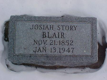 BLAIR, JOSIAH STORY - Louisa County, Iowa | JOSIAH STORY BLAIR