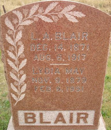 BLAIR, LYDIA MAY - Louisa County, Iowa | LYDIA MAY BLAIR