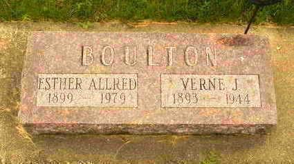 BOULTON, ESTHER - Louisa County, Iowa | ESTHER BOULTON