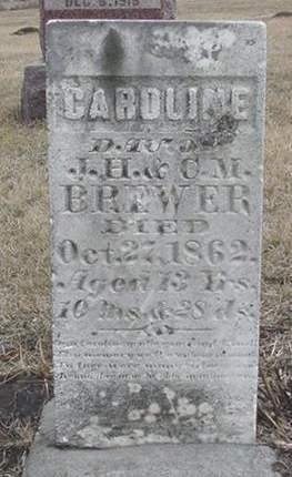 BREWER, CAROLINE - Louisa County, Iowa | CAROLINE BREWER