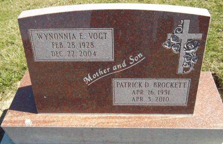 BROCKETT, PATRICK D. - Louisa County, Iowa | PATRICK D. BROCKETT