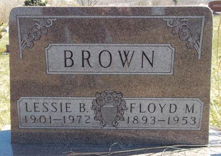 BROWN, FLOYD M. - Louisa County, Iowa   FLOYD M. BROWN