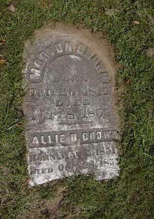 BROWN, ALLIE B. - Louisa County, Iowa | ALLIE B. BROWN