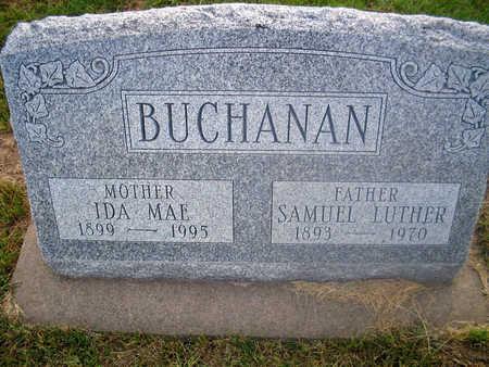 BUCHANAN, IDA MAE - Louisa County, Iowa | IDA MAE BUCHANAN