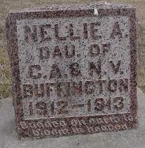 BUFFINGTON, NELLIE - Louisa County, Iowa | NELLIE BUFFINGTON