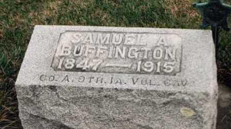 BUFFINGTON, SAMUEL A. - Louisa County, Iowa | SAMUEL A. BUFFINGTON