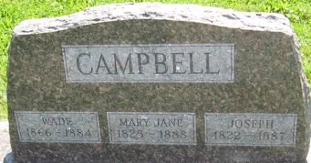 CAMPBELL, MARY JANE - Louisa County, Iowa | MARY JANE CAMPBELL