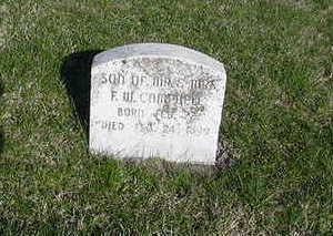 CAMPBELL, SON OF - Louisa County, Iowa | SON OF CAMPBELL