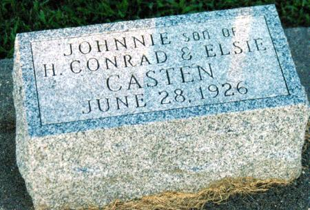 CASTEN, JOHNNIE - Louisa County, Iowa | JOHNNIE CASTEN