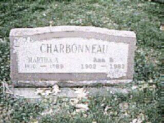 CHARBONNEAU, MARTHA - Louisa County, Iowa | MARTHA CHARBONNEAU