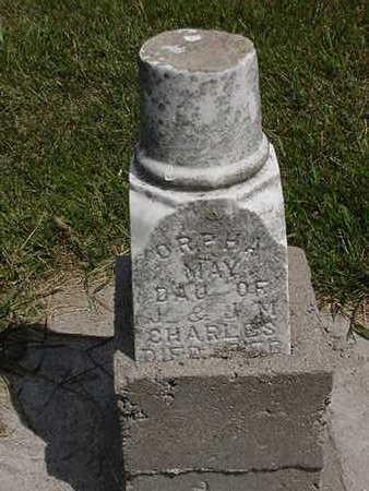 CHARLES, ORPHA MAY - Louisa County, Iowa | ORPHA MAY CHARLES
