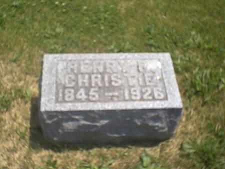 CHRISTIE, HENRY R. - Louisa County, Iowa | HENRY R. CHRISTIE