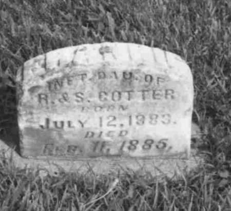 COTTER, FRANKIE - Louisa County, Iowa | FRANKIE COTTER