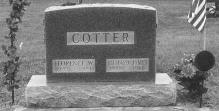 COTTER, FLORENCE - Louisa County, Iowa | FLORENCE COTTER