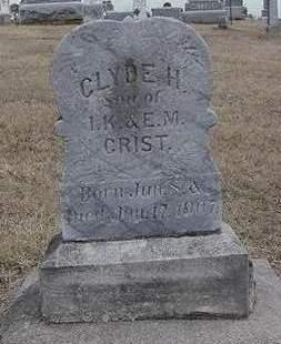 CRIST, CLYDE H. - Louisa County, Iowa | CLYDE H. CRIST