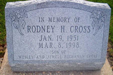 CROSS, RODNEY H. - Louisa County, Iowa   RODNEY H. CROSS