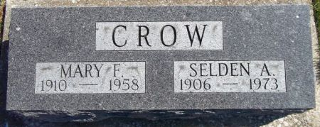 CROW, SELDEN A. - Louisa County, Iowa   SELDEN A. CROW