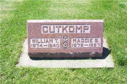 CUTKOMP, MAGGIE SERELLA - Louisa County, Iowa | MAGGIE SERELLA CUTKOMP