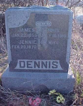 DENNIS, JENNIE - Louisa County, Iowa | JENNIE DENNIS