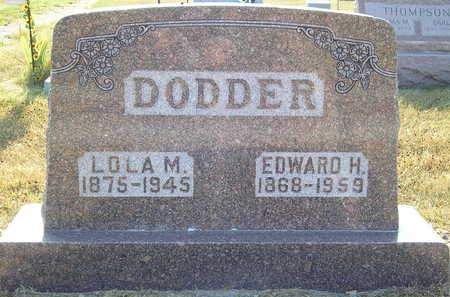 DODDER, EDWARD H. - Louisa County, Iowa | EDWARD H. DODDER