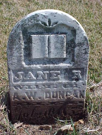 DUNCAN, JANE R. - Louisa County, Iowa | JANE R. DUNCAN