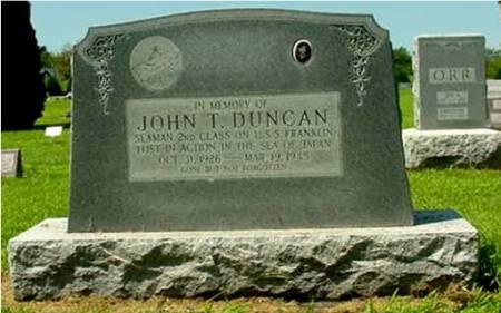 DUNCAN, JOHN TEDFORD - Louisa County, Iowa   JOHN TEDFORD DUNCAN
