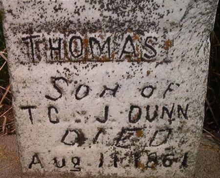 DUNN, THOMAS - Louisa County, Iowa   THOMAS DUNN