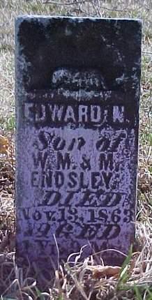 ENDSLEY, EDWARD N. - Louisa County, Iowa | EDWARD N. ENDSLEY