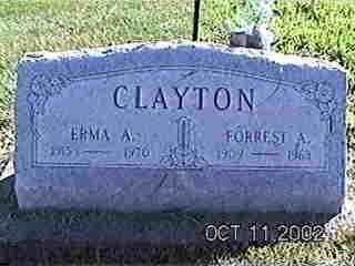 CLAYTON, FORREST A. - Louisa County, Iowa | FORREST A. CLAYTON