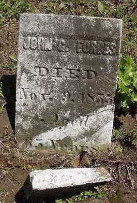FORBES, JOHN G. - Louisa County, Iowa | JOHN G. FORBES