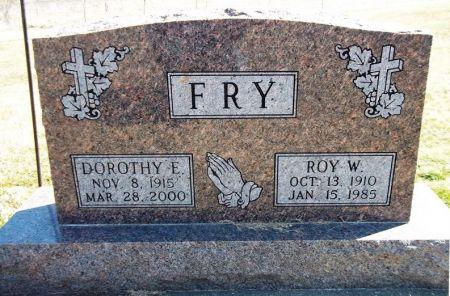FRY, DOROTHY E. - Louisa County, Iowa   DOROTHY E. FRY