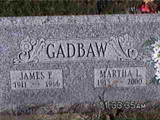 GADBAW, JAMES - Louisa County, Iowa | JAMES GADBAW