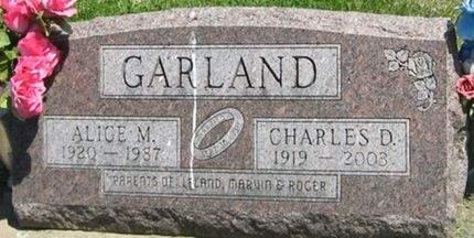 GARLAND, CHARLES D. - Louisa County, Iowa | CHARLES D. GARLAND