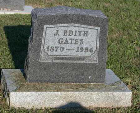 GATES, J. EDITH - Louisa County, Iowa   J. EDITH GATES