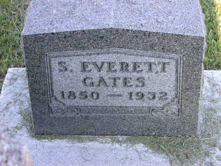 GATES, S. EVERETT - Louisa County, Iowa | S. EVERETT GATES