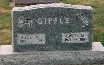 GIPPLE, GWEN M. - Louisa County, Iowa | GWEN M. GIPPLE