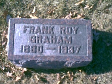 GRAHAM, FRANK ROY - Louisa County, Iowa | FRANK ROY GRAHAM