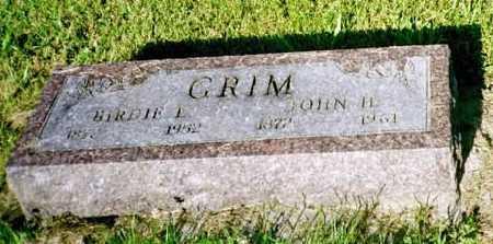GRIMM, JOHN H. - Louisa County, Iowa | JOHN H. GRIMM