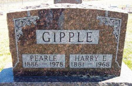 GIPPLE, PEARLE - Louisa County, Iowa | PEARLE GIPPLE