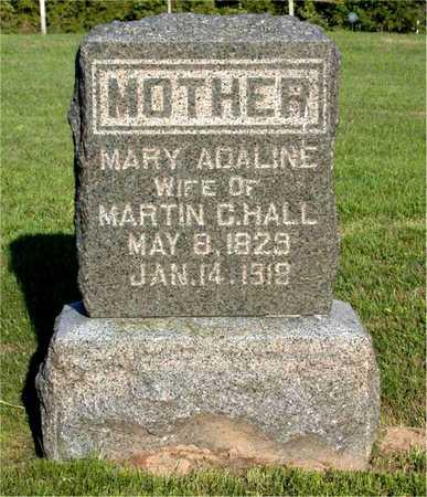 HALL, MARY ADALINE - Louisa County, Iowa   MARY ADALINE HALL