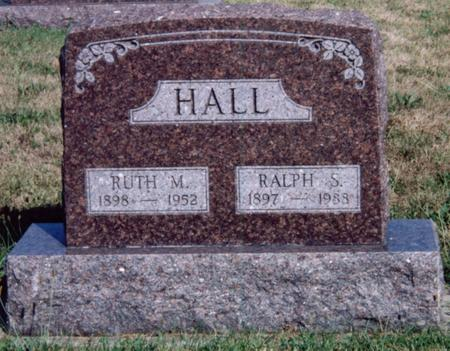HALL, RUTH - Louisa County, Iowa | RUTH HALL