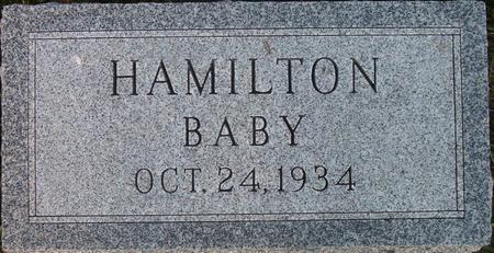 HAMILTON, BABY - Louisa County, Iowa | BABY HAMILTON