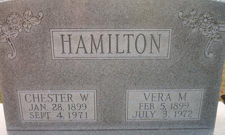 HAMILTON, CHESTER W. - Louisa County, Iowa | CHESTER W. HAMILTON