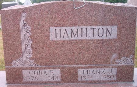 HAMILTON, FRANK U. - Louisa County, Iowa | FRANK U. HAMILTON