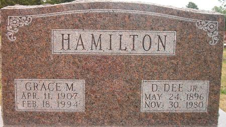 HAMILTON, D. DEE JR. - Louisa County, Iowa | D. DEE JR. HAMILTON