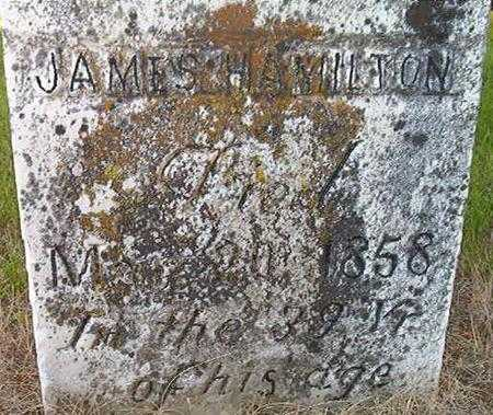 HAMILTON, JAMES - Louisa County, Iowa | JAMES HAMILTON