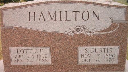 HAMILTON, S. CURTIS - Louisa County, Iowa | S. CURTIS HAMILTON