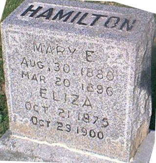 HAMILTON, ELIZA - Louisa County, Iowa | ELIZA HAMILTON