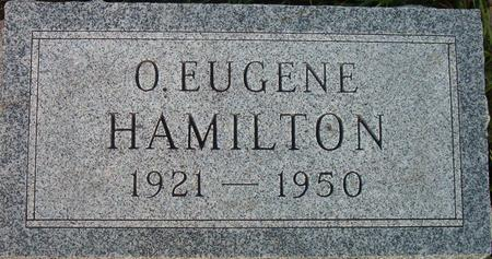 HAMILTON, O. EUGENE - Louisa County, Iowa | O. EUGENE HAMILTON